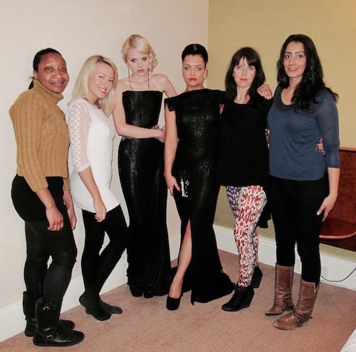 Red Carpet makeover team