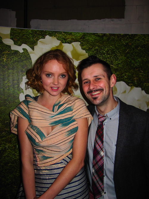Lily Cole and Max McMurdo