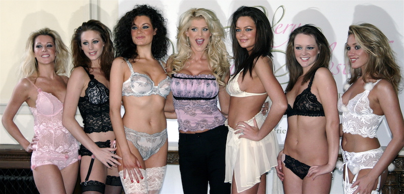 Lingerie launch