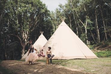 Tribal shoot