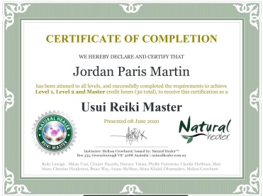 Reki master distance healing